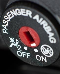Cadeirinha do bebe airbag
