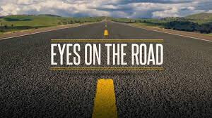 Olhos na estrada