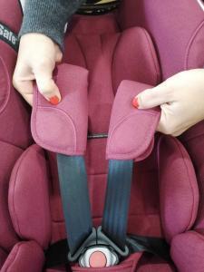 Almofadas protectoras de pescoço da cadeirinha de bebe